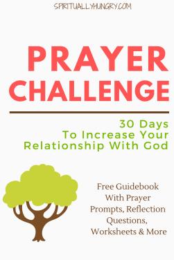 Prayer, Christian Challenges, 30 Day Christian Challenge