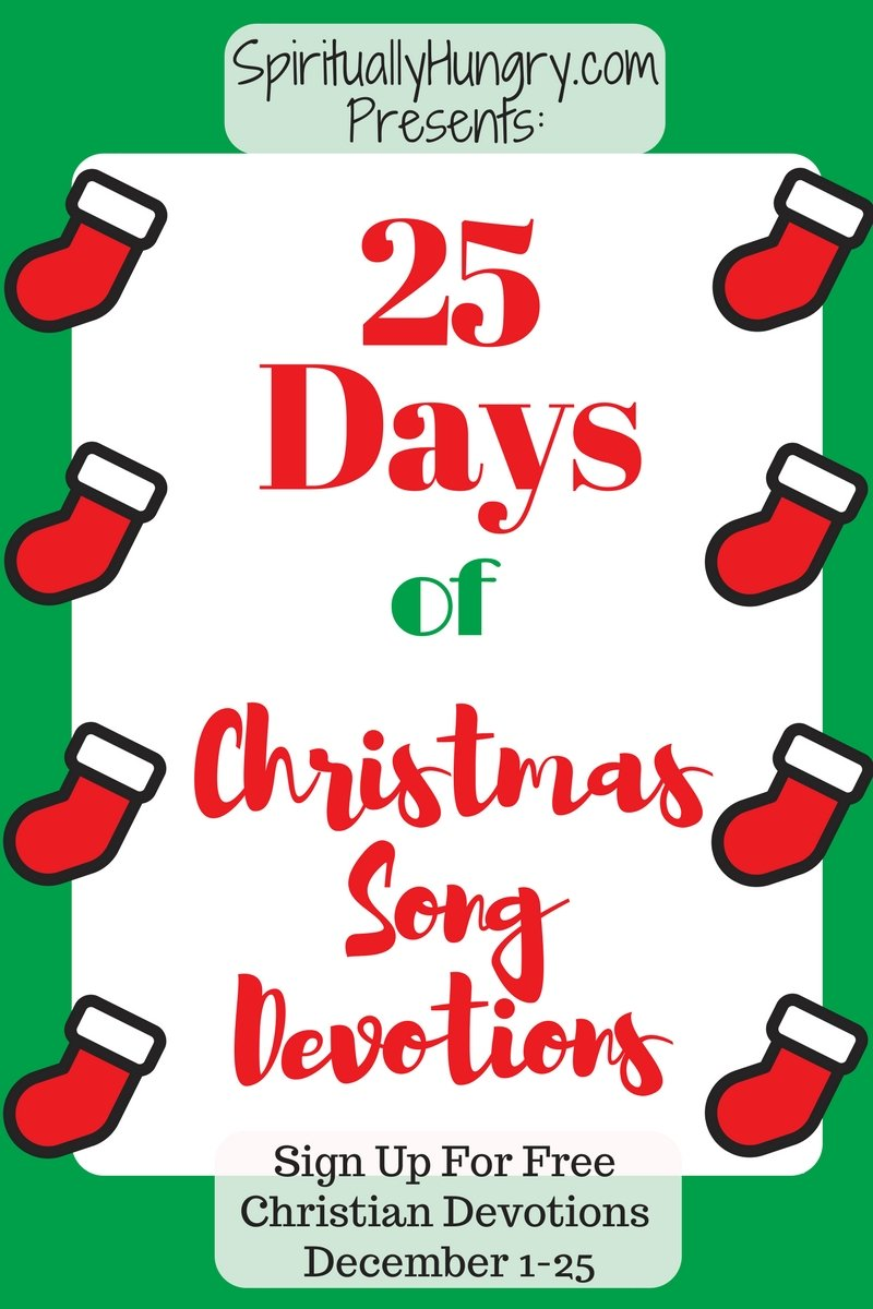Do you love Christmas worship songs or carols? If so, then these devotions are for you! For 25 days, starting December 1st, we will send to your email a devotion based off of a great Christmas worship song or carol and it's all free! Sign up today!