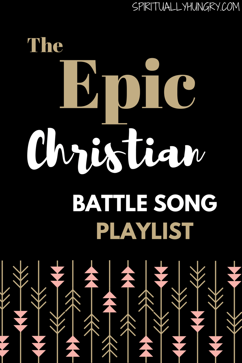 Do you find yourself in the middle of a battle or storm? Equip your fight with worship, as it is a great way to find stability and strength. Make your own playlist for battle with these great Christian songs, videos included in post!