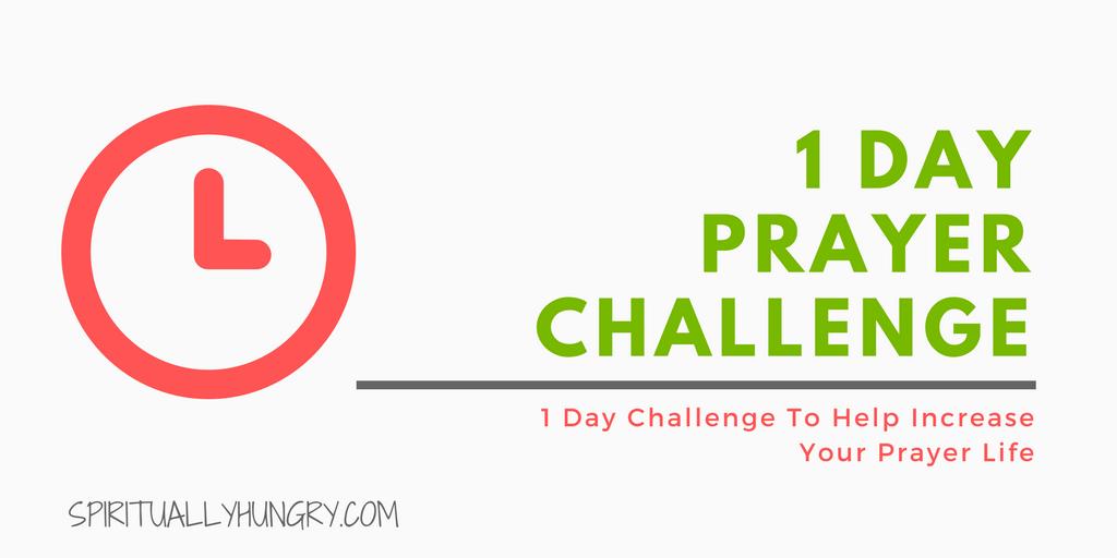 Prayer, 30 Day Challenge, Christian Challenges