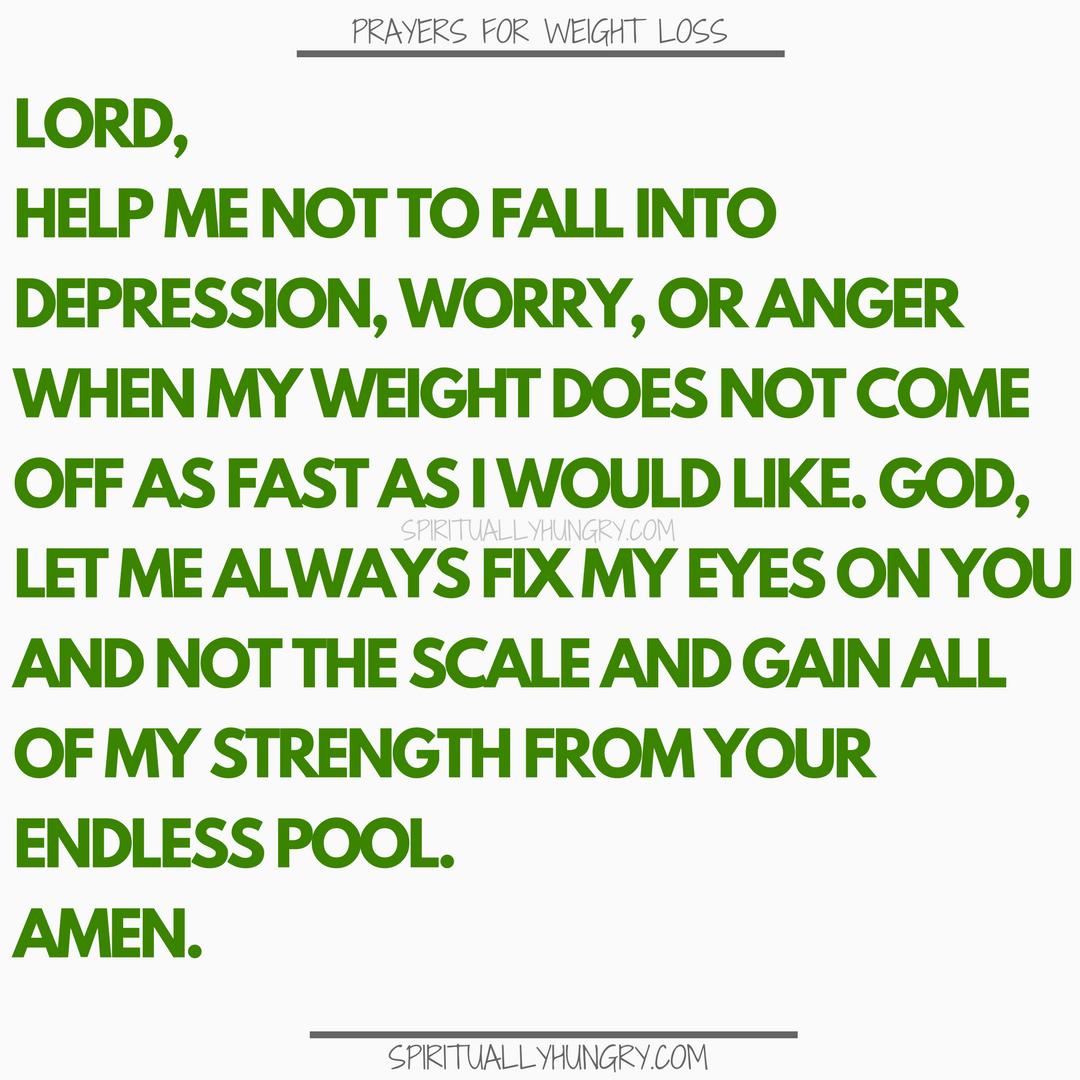 Prayer For Crash Diets | Prayers For Crash Diets