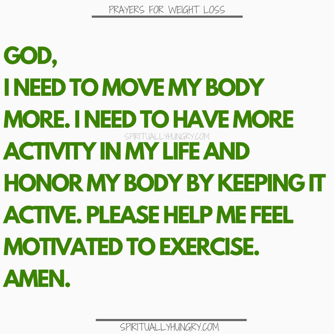 Prayer For Exercise | Prayers For Exercise