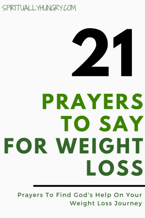 Prayers For Dieting With God | Prayer For Dieting With God