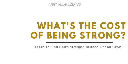 Strength in God | Strength In Christ | God's Power