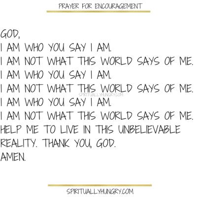 Prayers For Encouragement