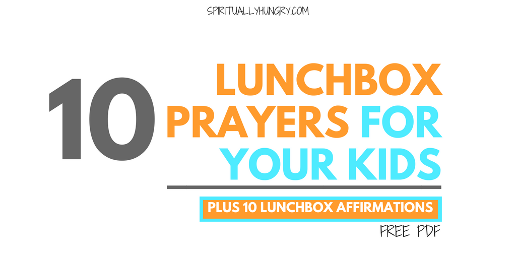 picture relating to Printable Prayers identify 10 Lunch Prayers For Little ones With Totally free Printable - Spiritually