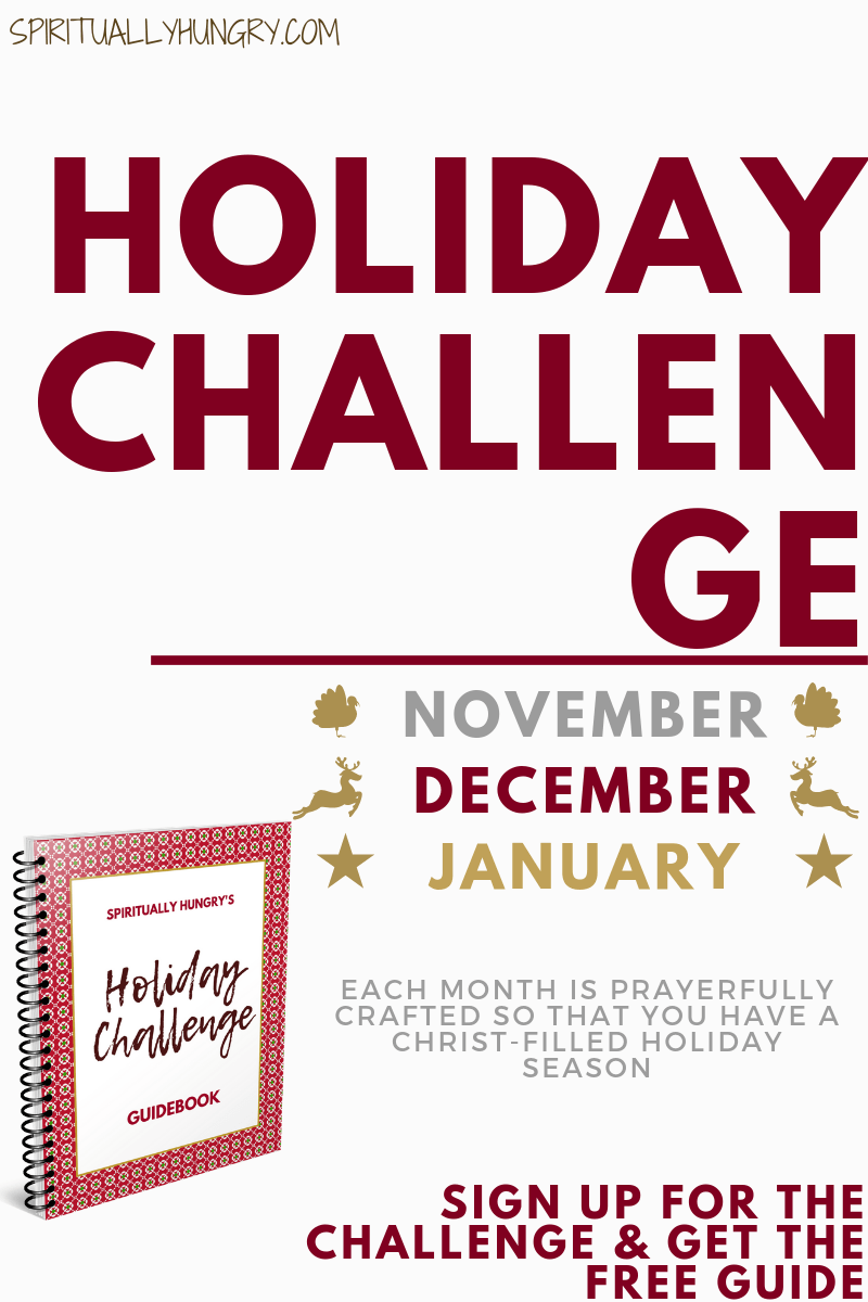 Three free Christian Holiday Challenges over three months! Thanksgiving, Christmas, and New Year's challenges which are all exciting and filled with the love, power, and truth of God. Enhance your holiday season this year as you spend a few minutes a day growing your relationship with God through this amazing season!