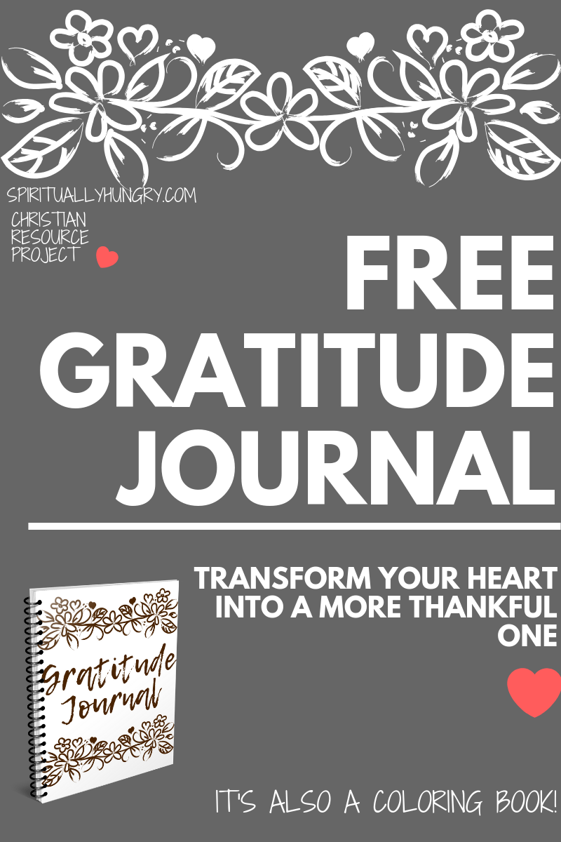 Are you looking to have more Thanksgiving in your heart? This gratitude journal is a perfect companion piece to helping you foster a more thankful heart. This gratitude journal also doubles as a coloring book, extra bonus!