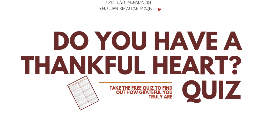 Gratitude Quiz | How Thankful Are You?