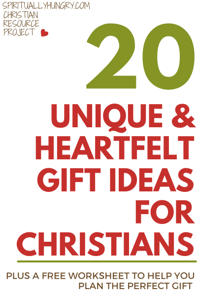 20 Unique Heartfelt Gift Ideas