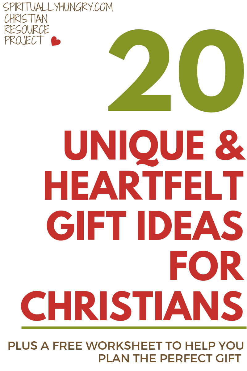 Are you looking to give a gift that has more meaning behind it? A gift that is heartfelt? We provide 20 unique gift ideas that anyone can make or put together to give a very meaningful gift. A bonus free worksheet is included to help you plan the perfect gift!