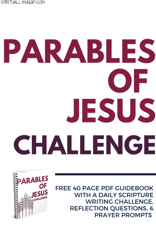 Parables Of Jesus Challenge