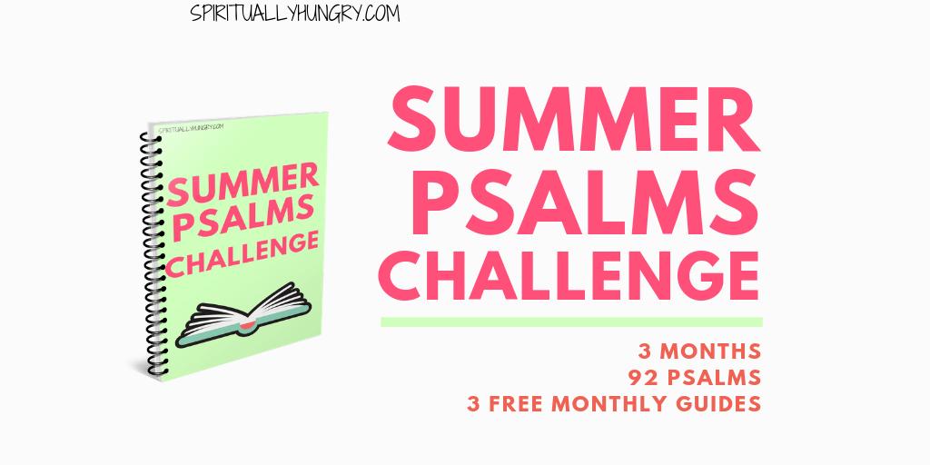 Psalms Challenge - Spiritually Hungry