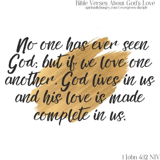 Scripture About God's Love