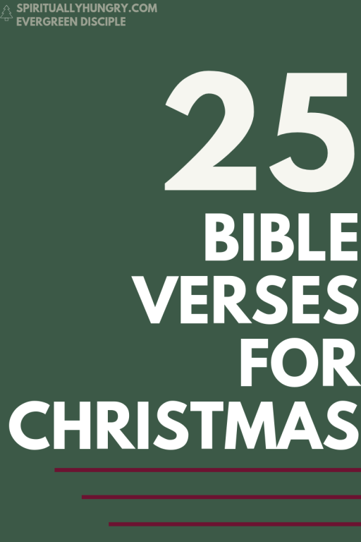 Scripture For Christmas