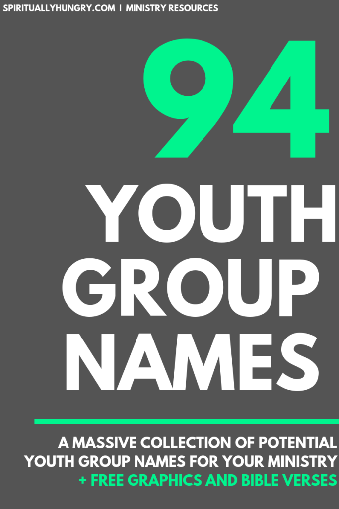 Youth Group Names