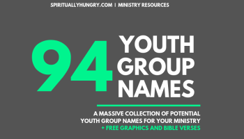 128 Small Group Questions For Youth Ministry - Spiritually