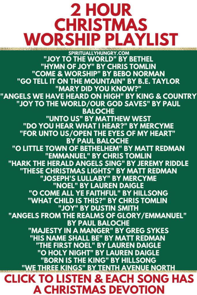 Christmas Worship Songs Playlist | Christmas Carols | Christmas Devotions | Christmas Devotional