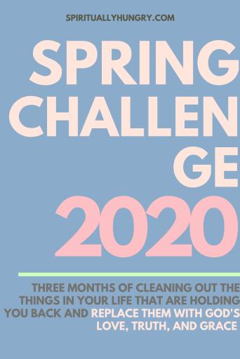 Spring Scripture Reading Challenge 2020 | Scripture Reading Plans | Scripture Writing Plans