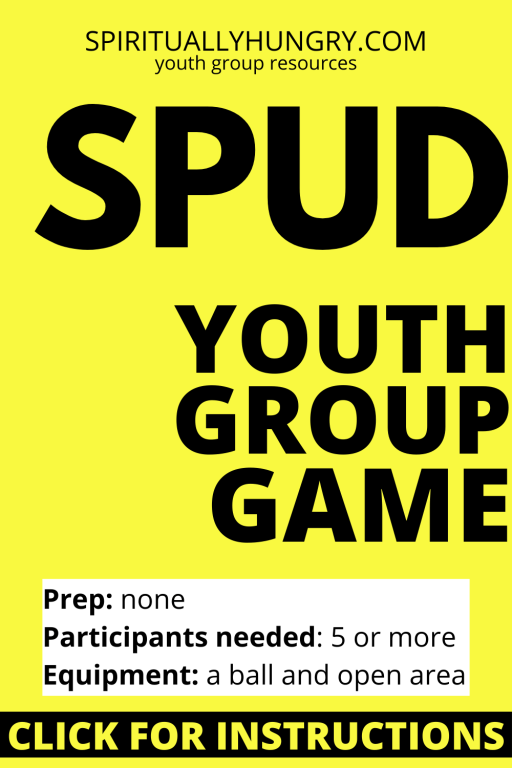 Spud Game Rules | Youth Group Games | No Prep Games