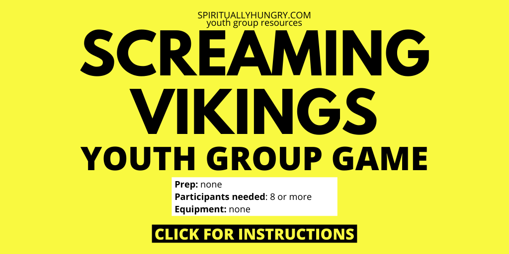 Screaming Vikings Game Instructions