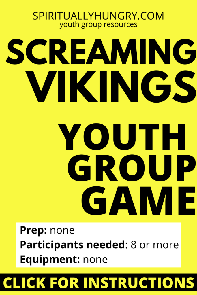 Screaming Vikings Game Instructions | Youth Group Games | Games For Youth | No Prep Games