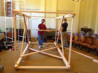 Assembling the structure