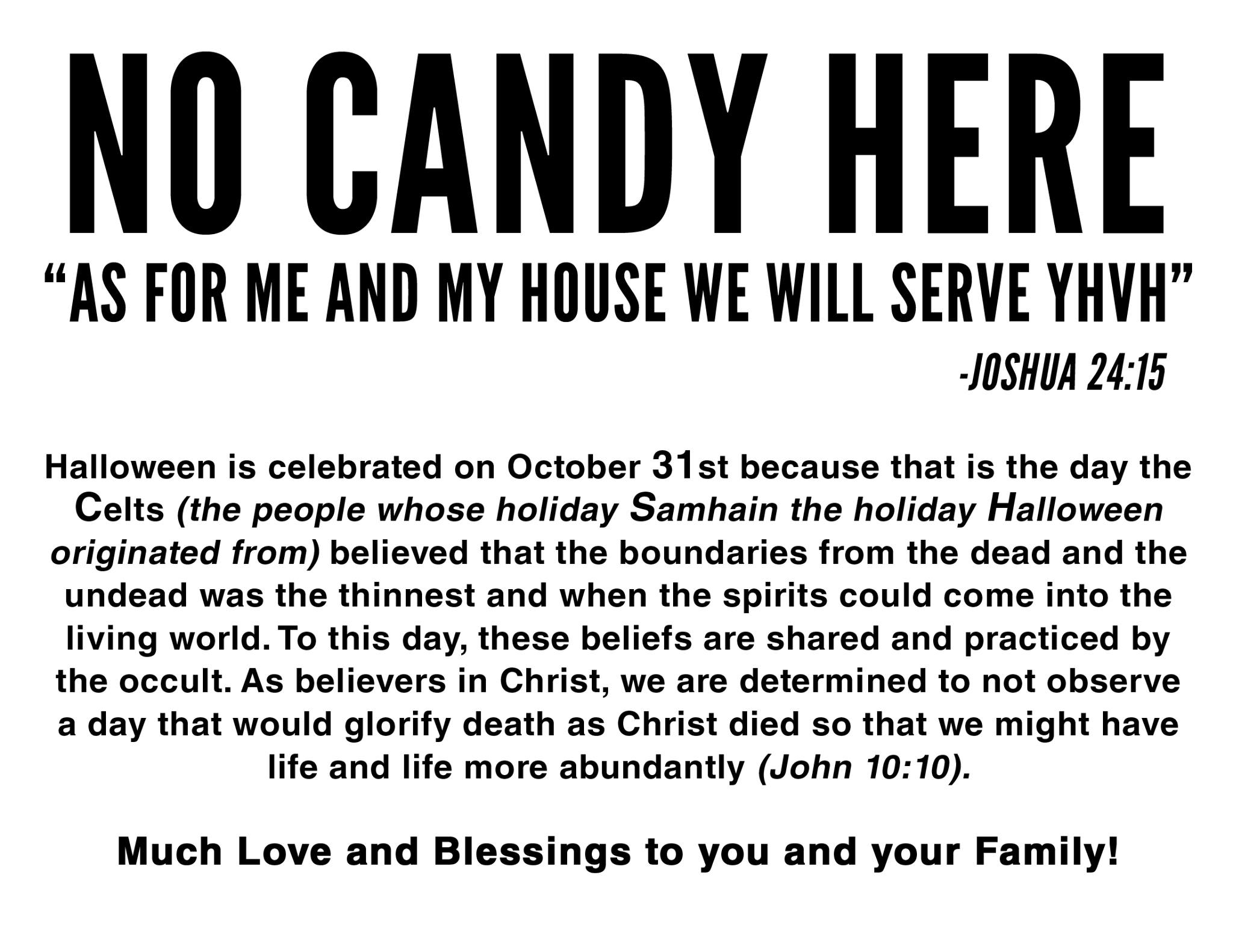Christians And Halloween What S A Christian To Do