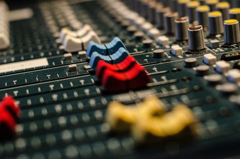audio, mixer, equipment