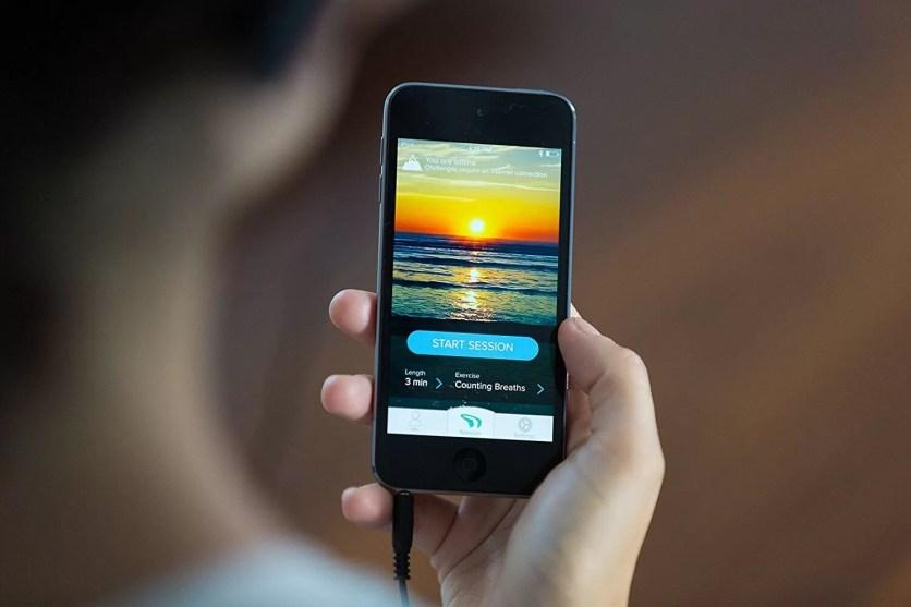 Smartphone appli Muse méditation