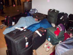 混雑した空港2