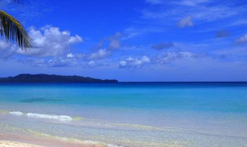 ボラカイ島の海
