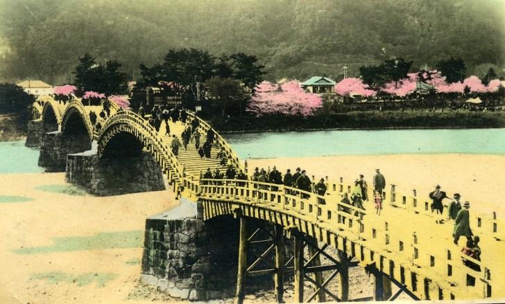 昔の錦帯橋