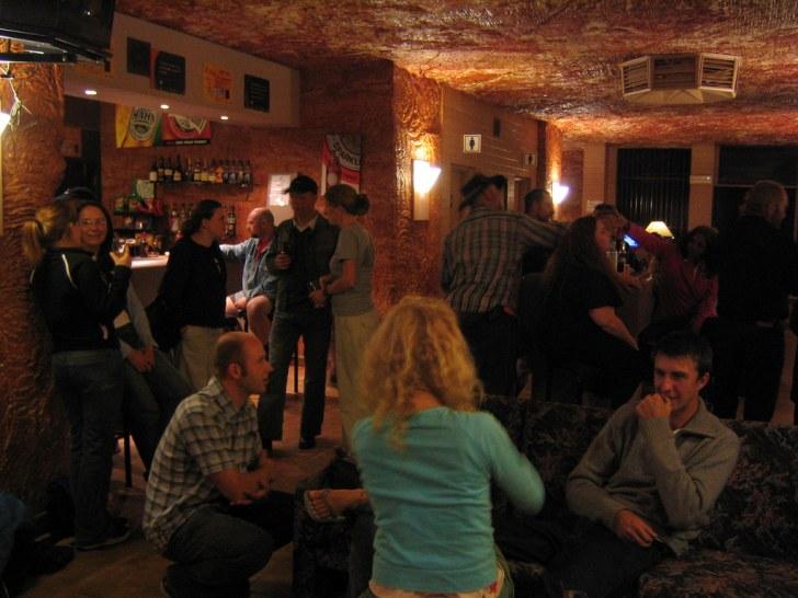 洞窟レストラン・バー
