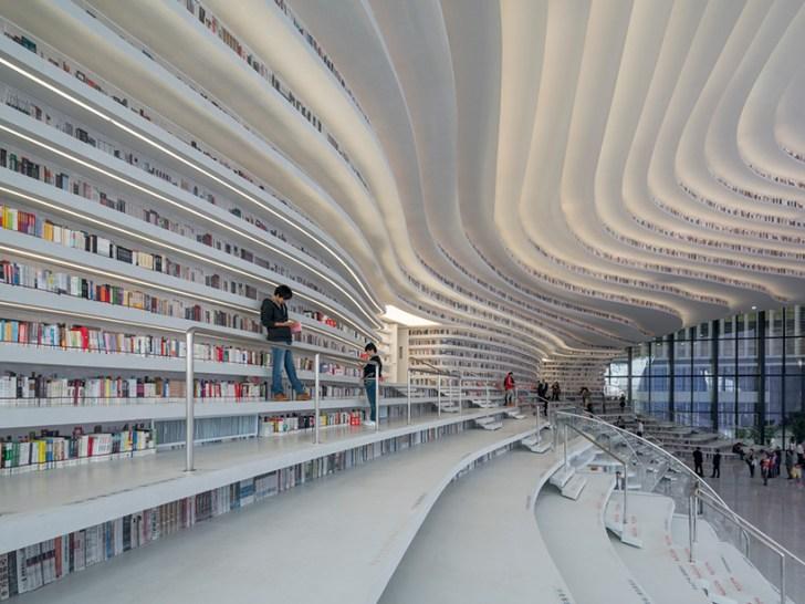 中国のクールな図書館