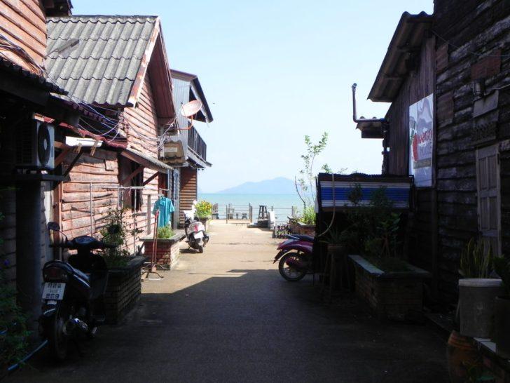 Lana Old Townの路地