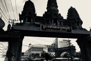 カンボジアとタイの国境