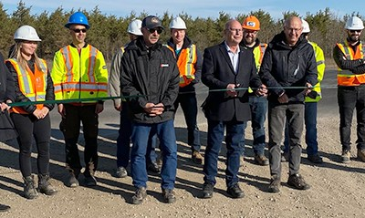 Highway 3 passing lanes officially opened