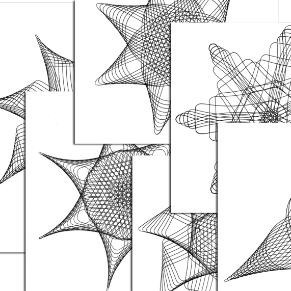 6 full-page coloring pages