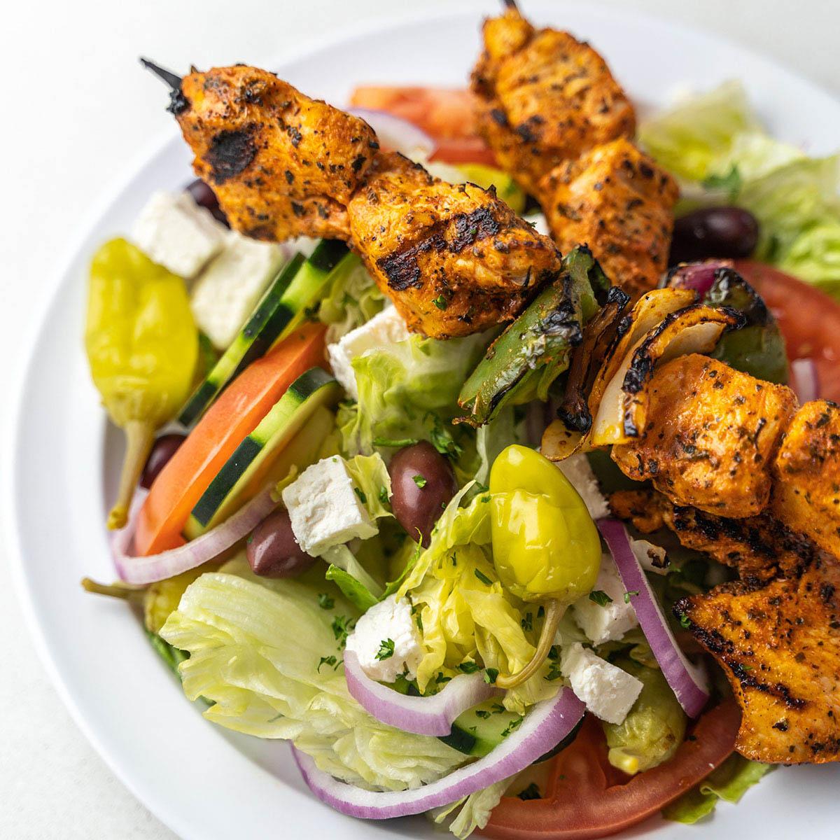 keto diet friendly grilled shrimp kabob
