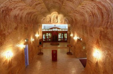 Αυτή είναι μια υπόγεια εκκλησία...