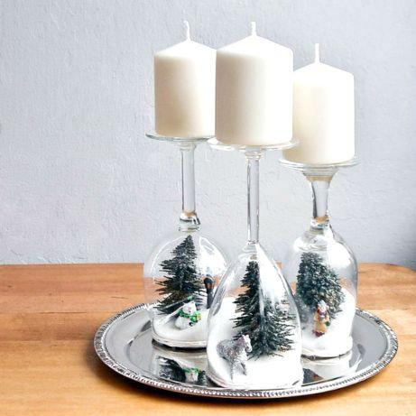 Έχετε χρόνο και διάθεση; Γεμίστε τα ζάχαρη για να δημιουργήστε το απόλυτο χριστουγεννιάτικο τοπίο.