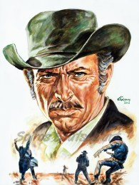 lee_van_cleef_painting_portrait_movie_poster_western_spaghetti
