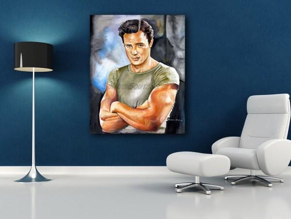 marlon_brando_canvas_print_painting_poster