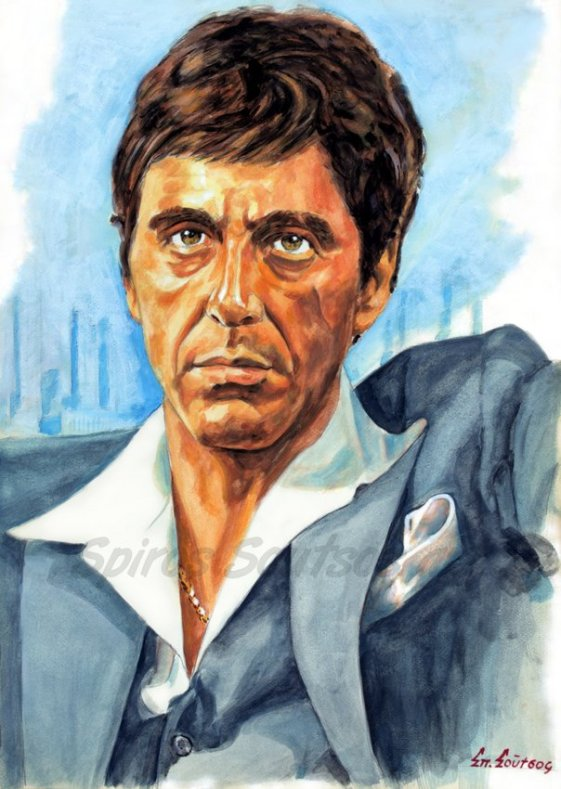 al_pacino_scarface_painting_portrait_movie_poster_print