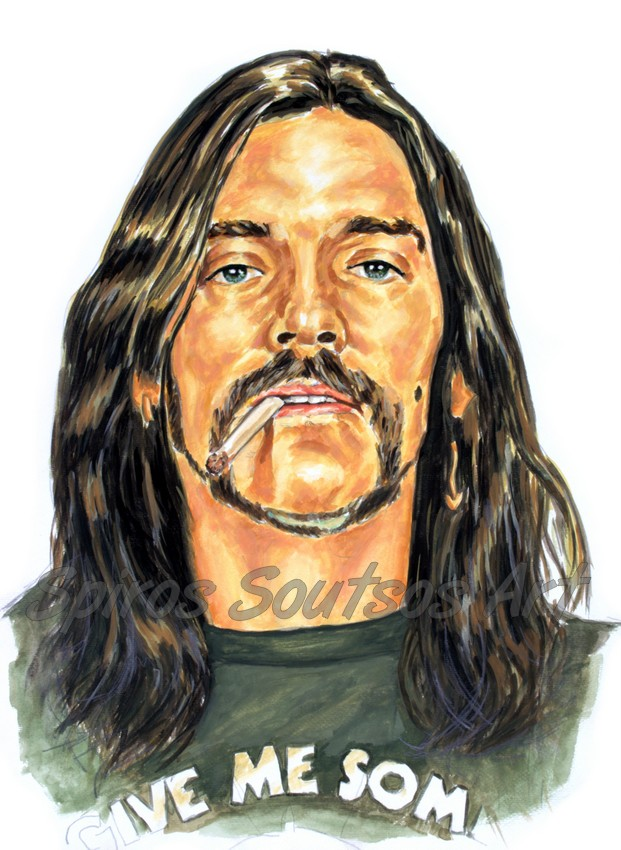 Motörhead, Lemmy Kilmister painting portrait