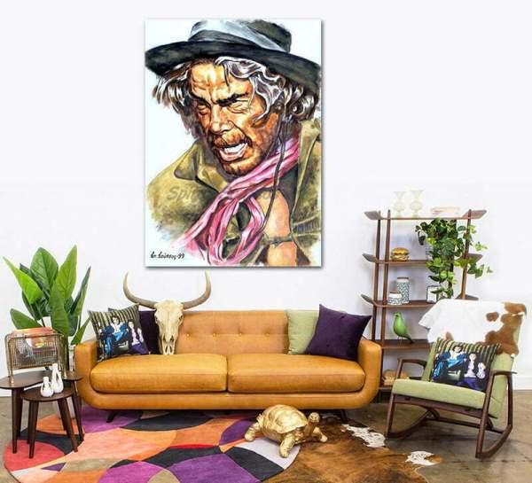 lee_marvin_cat_ballou_painting_portrait_poster_print