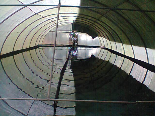 Spirulina da Serra production tank