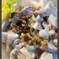 Waldorfsalat, egen :) sund og lækker