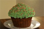 Kæmpe cupcake